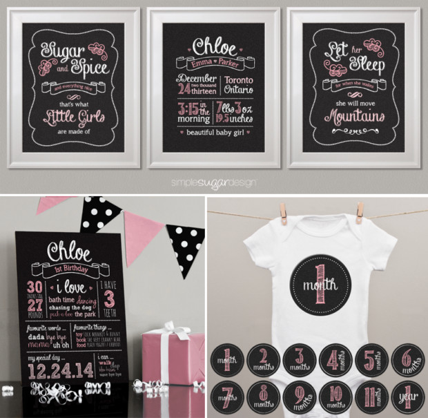 Classic Chalkboard Collection