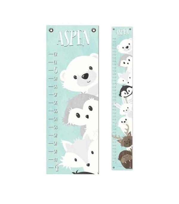 Arctic Animals Height Chart
