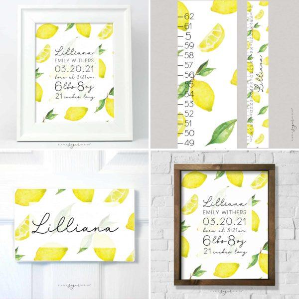 Sweet Lemonade Collection